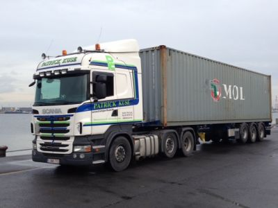 Containertransport 1