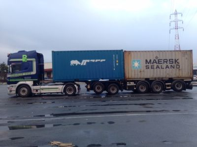 Containertransport 3